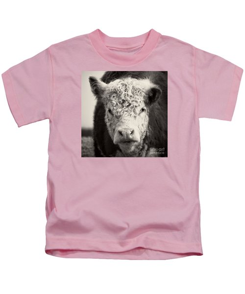 How Now Brown Cow Square Format Kids T-Shirt