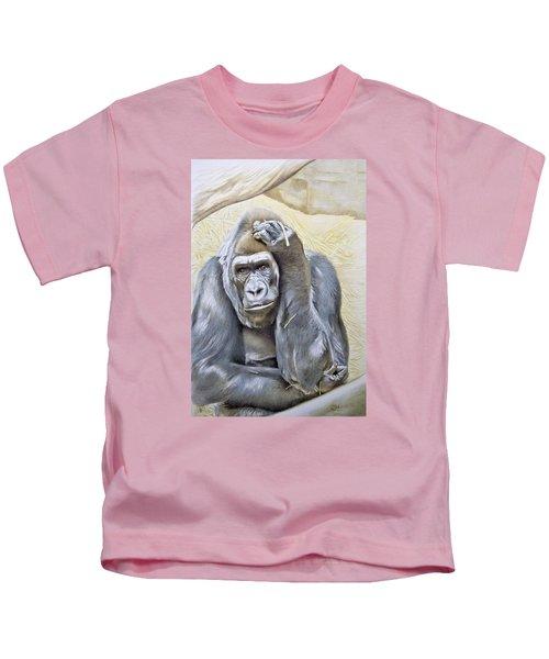 I Am In Big Trouble Kids T-Shirt