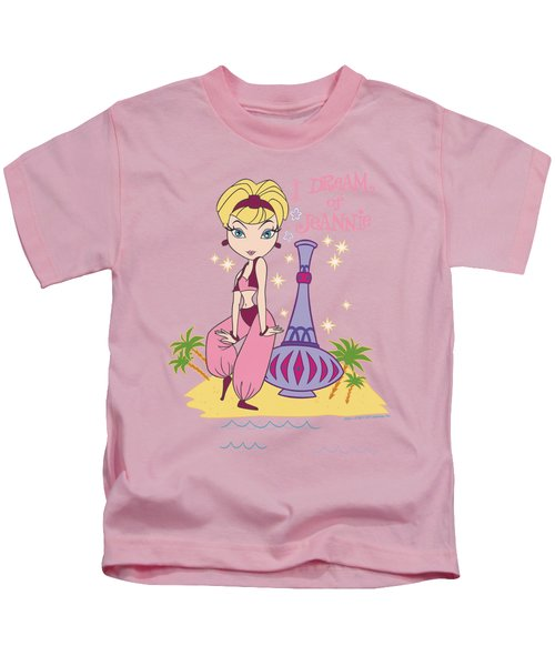 I Dream Of Jeannie - Island Dance Kids T-Shirt