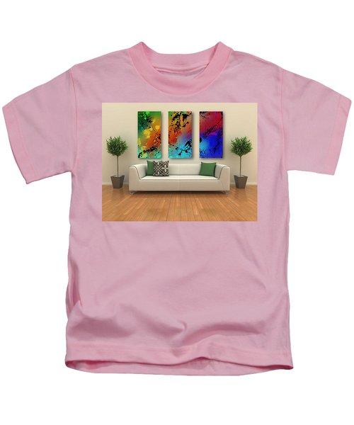 Infinite M Triptych Sample Kids T-Shirt