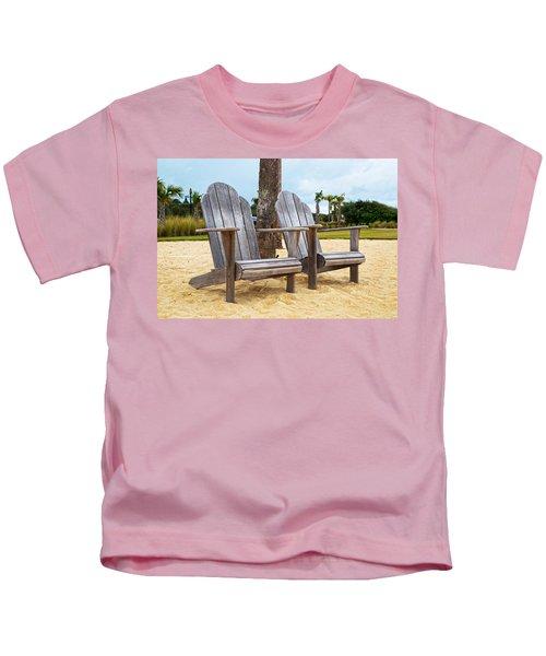 Jekyll Island Adirondacks  Kids T-Shirt