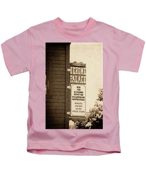 Jerome Palace - The Haunted Hamburger Kids T-Shirt