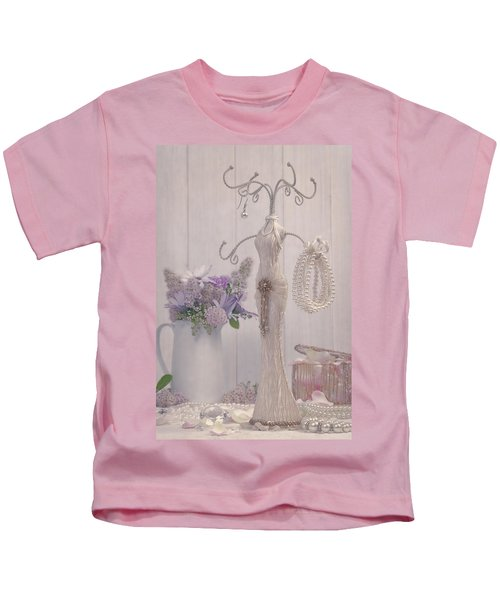 Jewellery And Pearls Kids T-Shirt
