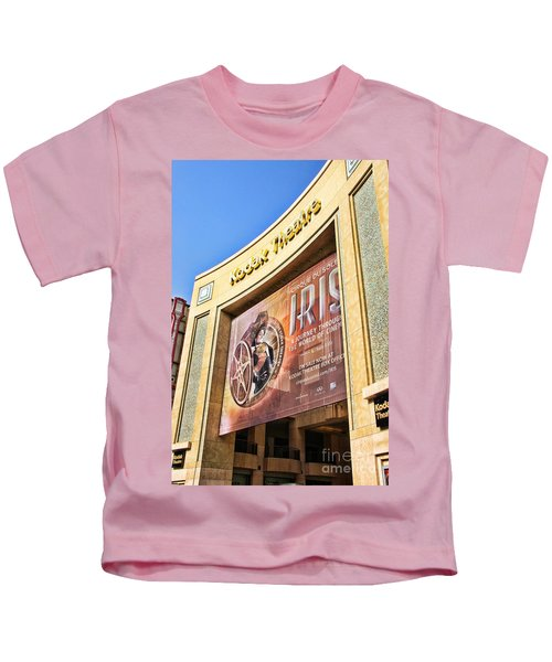 Kodak Theatre Kids T-Shirt by Mariola Bitner