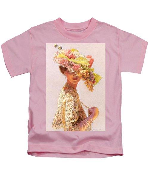 Lady Victoria Victorian Elegance Kids T-Shirt