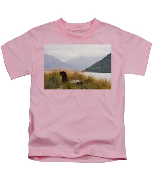 Lake Wakatipu Bench Kids T-Shirt
