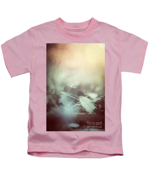 Leaves Of Time  Kids T-Shirt