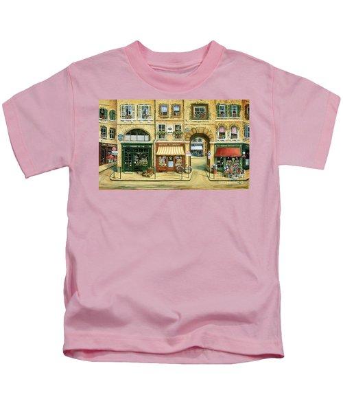 Les Rues De Paris Kids T-Shirt