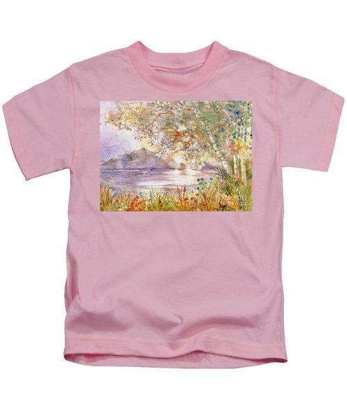 Light Through The Pass Kids T-Shirt
