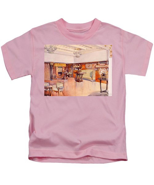 Living Room, 1905 Kids T-Shirt