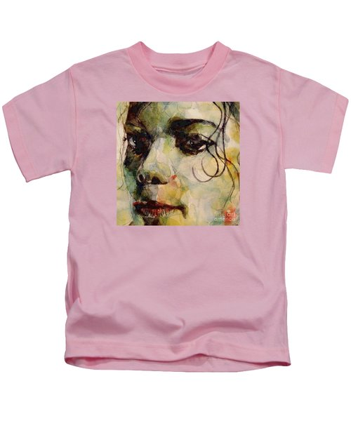 Man In The Mirror Kids T-Shirt by Paul Lovering