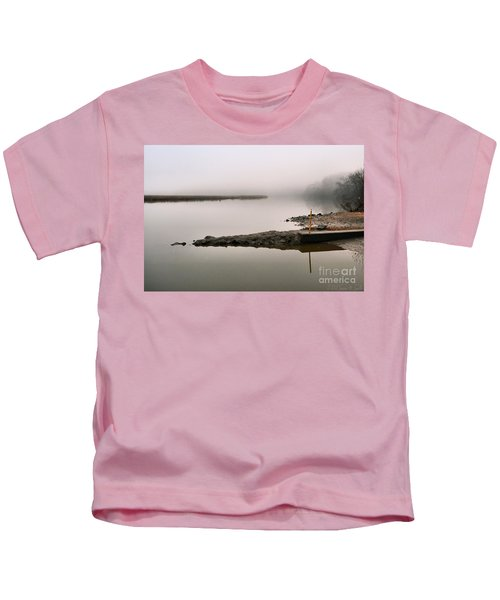 Misty Morning Calm Kids T-Shirt