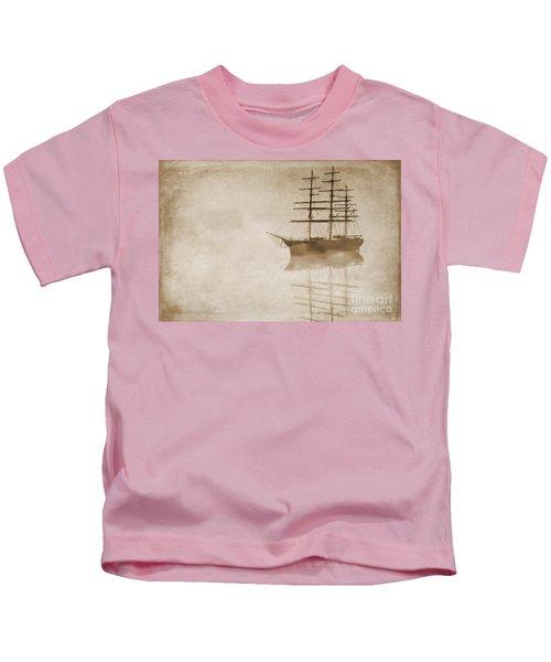 Morning Mist In Sepia Kids T-Shirt