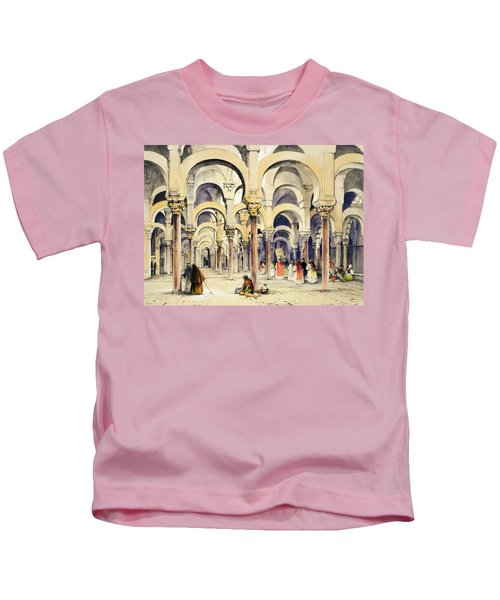 Mosque At Cordoba, From Sketches Kids T-Shirt