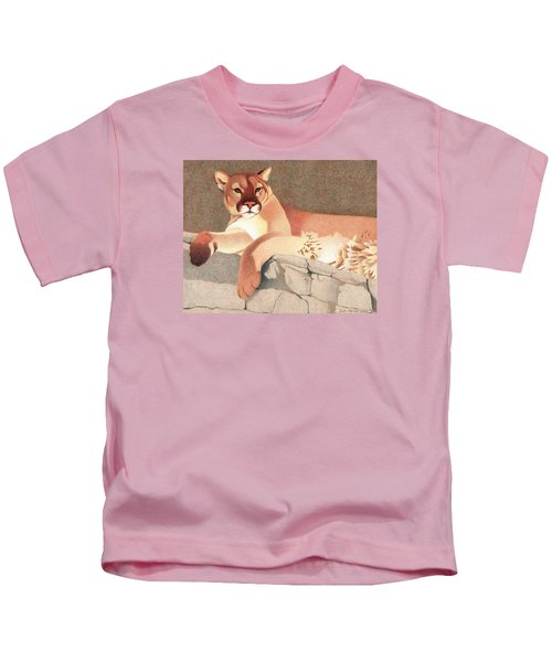 Mountain Lion Kids T-Shirt