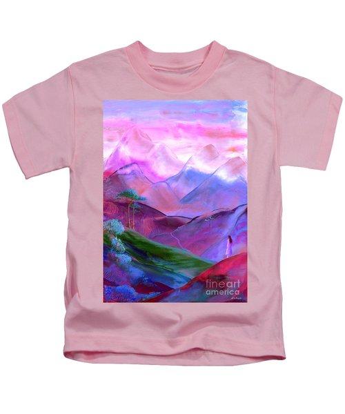 Mountain Reverence Kids T-Shirt