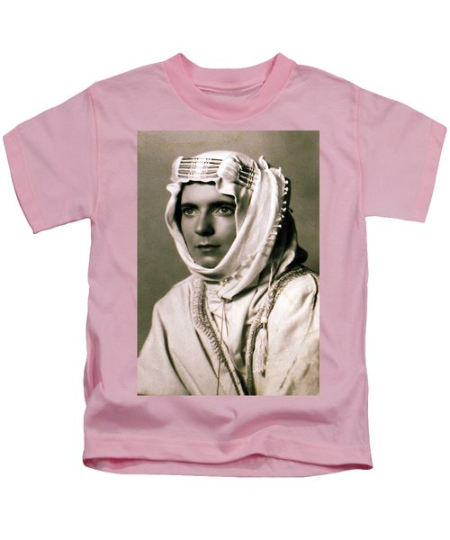Kids T-Shirt featuring the photograph Mum Chris  Year 1955 by Colette V Hera  Guggenheim