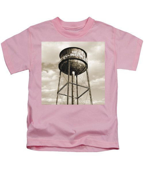New York Water Towers 11 - Greenpoint Brooklyn Kids T-Shirt