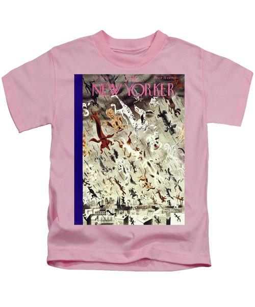 New Yorker April 4 1936 Kids T-Shirt
