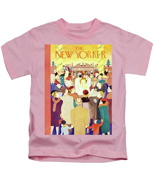 New Yorker December 2 1939 Kids T-Shirt
