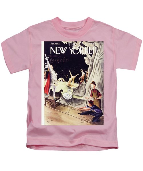 New Yorker January 30 1937 Kids T-Shirt