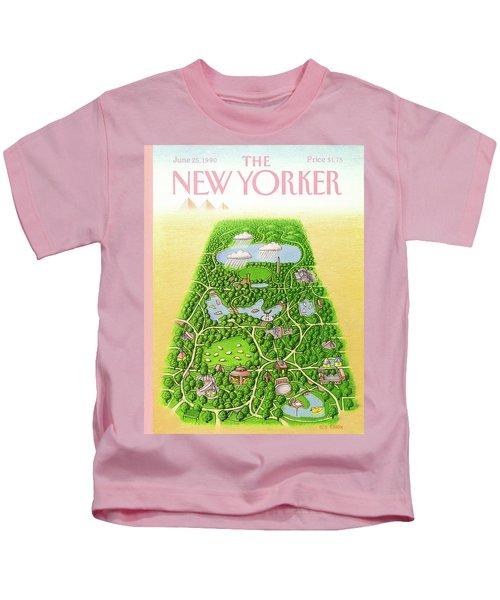 New Yorker June 25th, 1990 Kids T-Shirt