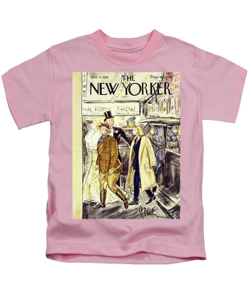 New Yorker November 5 1938 Kids T-Shirt