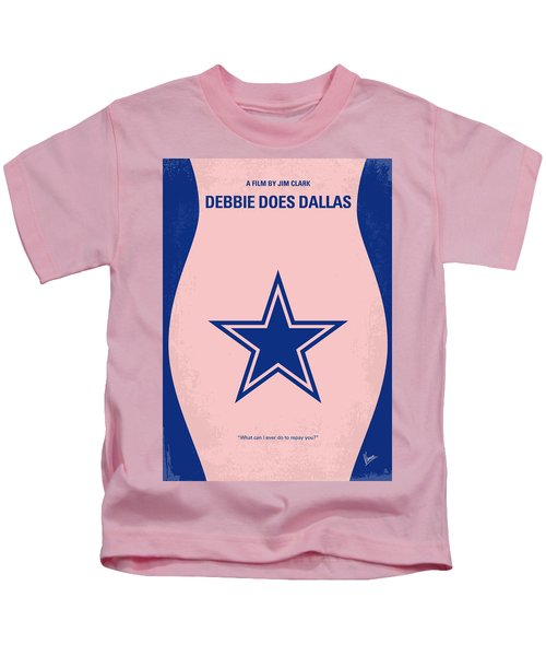 No302 My Debbie Does Dallas Minimal Movie Poster Kids T-Shirt