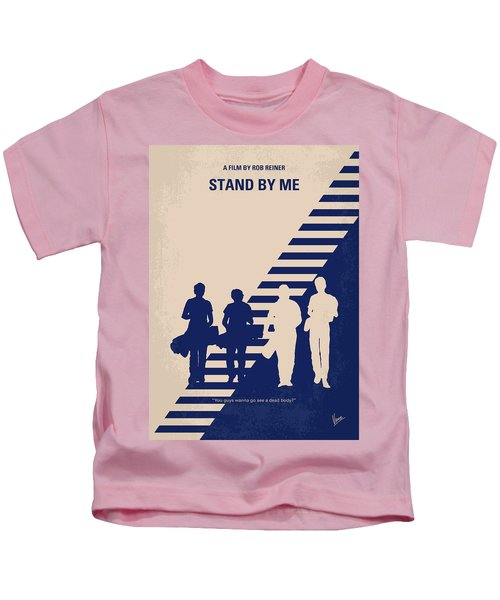 No429 My Stand By Me Minimal Movie Poster Kids T-Shirt