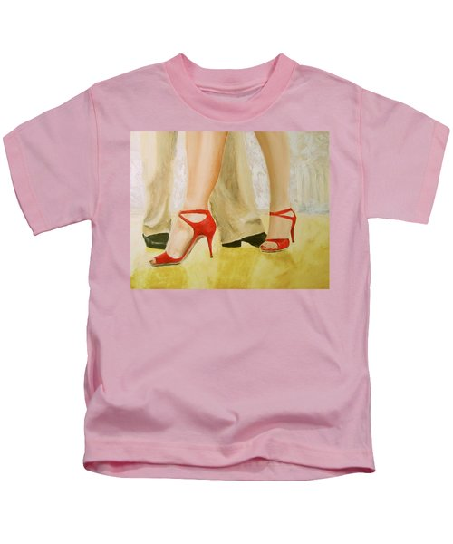 Oh Those Red Shoes Kids T-Shirt