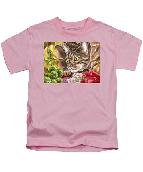 Ok Now What Kids T-Shirt by Hiroko Sakai