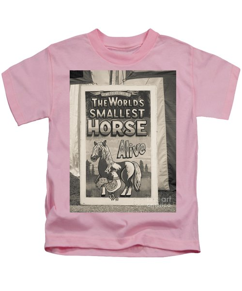 Old Sideshow Poster Kids T-Shirt