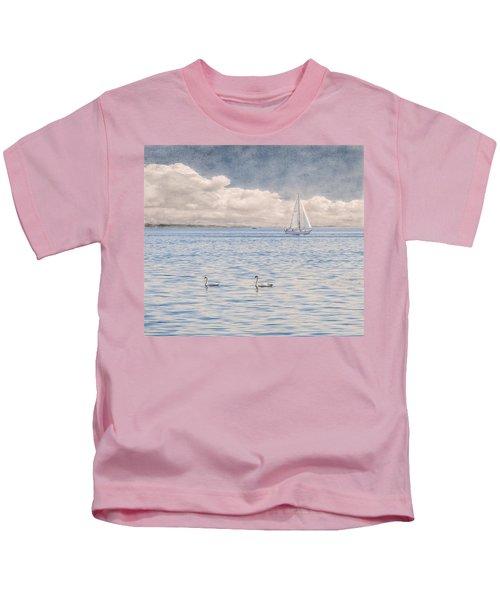 On A Summer's Breeze Kids T-Shirt