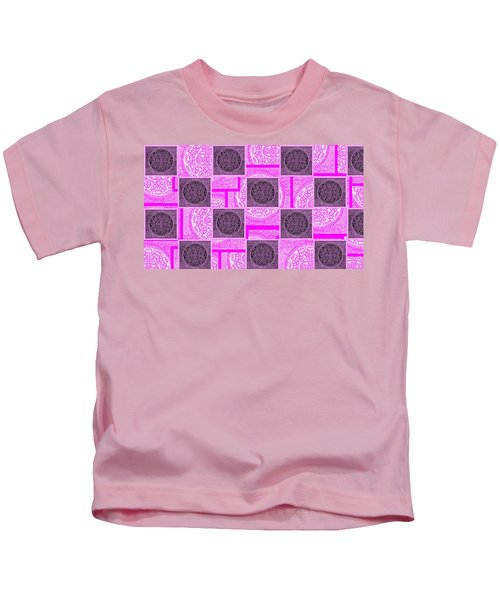 Oreo Pink Checker Board For The Cure Kids T-Shirt