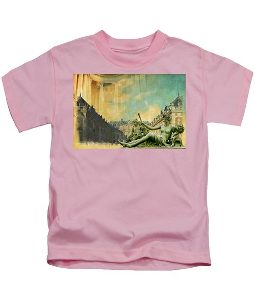 Palace And Park Of Versailles Unesco World Heritage Site Kids T-Shirt
