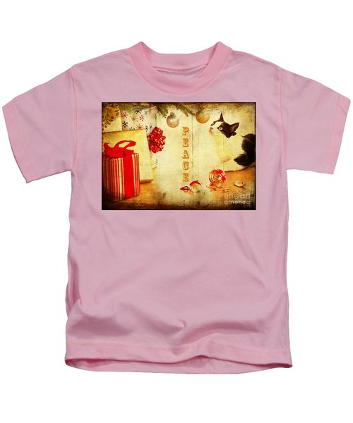 Peace And Joy To All Kids T-Shirt