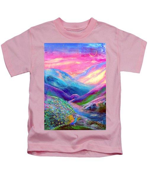 Peacock Magic Kids T-Shirt