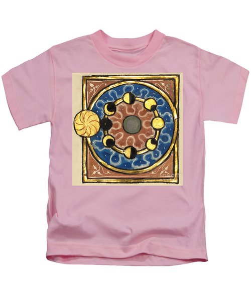 Phases Of The Moon, C.1280 Kids T-Shirt