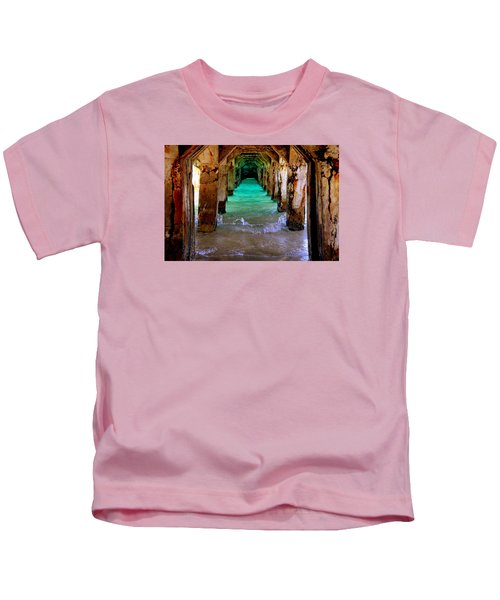 Pillars Of Time Kids T-Shirt