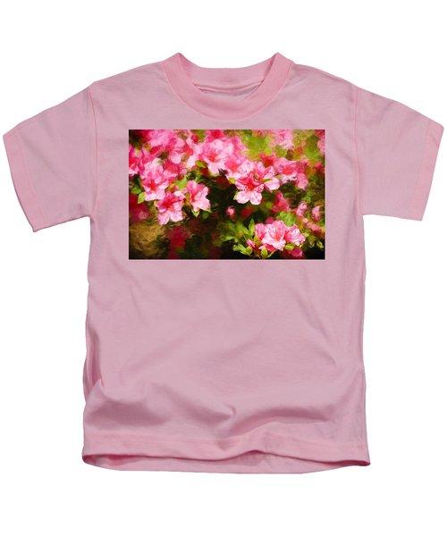 Pink Azealas Kids T-Shirt