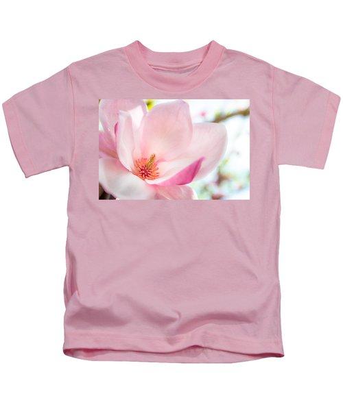 Pink Magnolia Kids T-Shirt