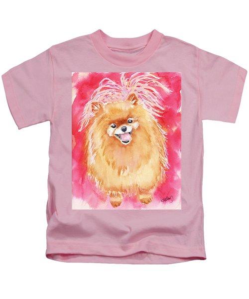 Pink Pom Kids T-Shirt