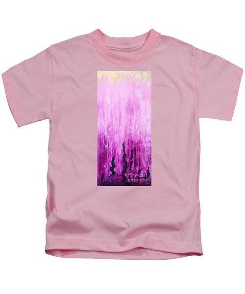 Pink Water Kids T-Shirt
