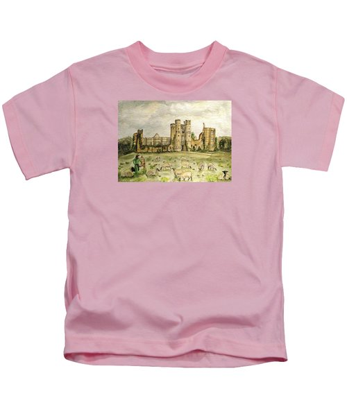 Plein Air Painting At Cowdray House Sussex Kids T-Shirt