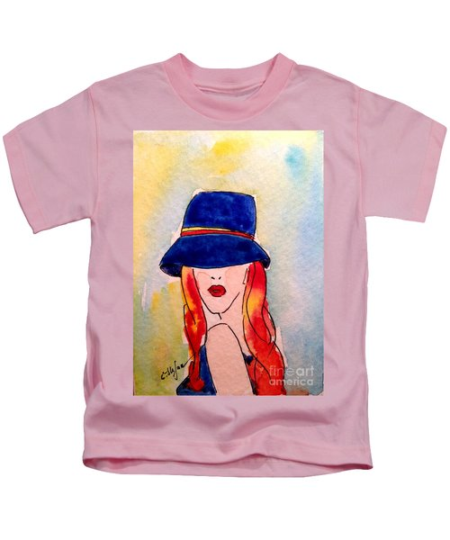 Portrait Of A Woman Kids T-Shirt