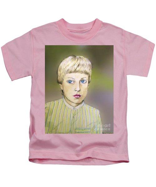 Portrait Of Justin Age 9 Kids T-Shirt