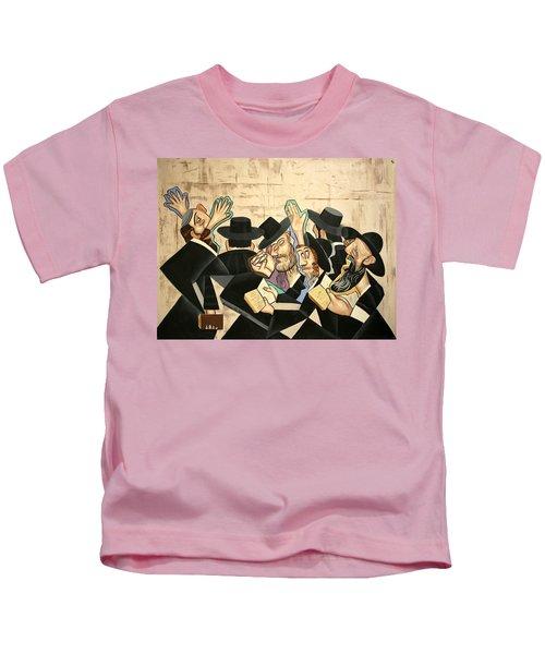 Praying Rabbis Kids T-Shirt