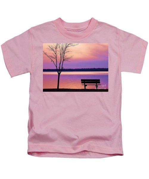 Presque Isle Solitude 11.12.12 Kids T-Shirt