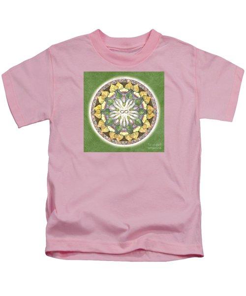 Prosperity Mandala Kids T-Shirt