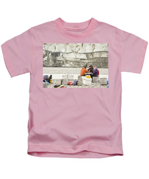 Rafters Playing Cards While Waiting Kids T-Shirt